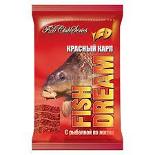Прикормка Fish Dream Красный Карп