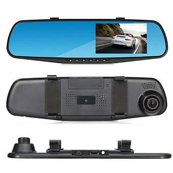 Автомобильный видеорегистратор зеркало DVR-138 с 1 камерой | видеорегистратор в машину