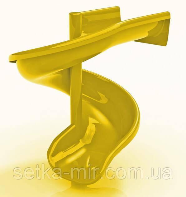 Горка Стеклопластиковая KIDIGO Спираль H 1,5м (SPU0315)