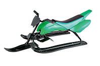 Снегоход «Спорт Люкс» green  Kidigo