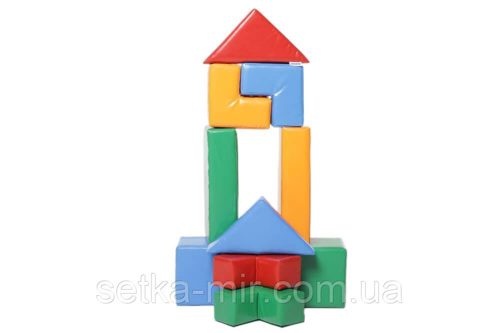 Конструктор Детский «Строитель 8 Мини»
