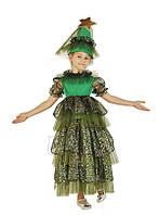 Елка новогодняя карнавальный костюм для девочки \ размер 110-116; 122-128; 134-140 \ BL - ДНг23