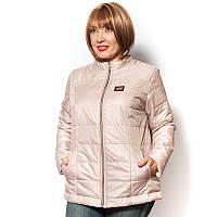 Женская куртка демисезонная больших размеров