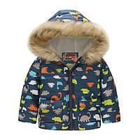 Куртка для мальчика Динозавры Jomake