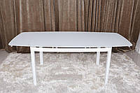 Стол обеденный Nicolas LEICESTER 200/140х90х75.5 см белый