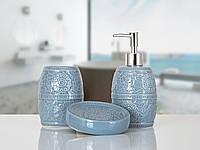 Комплект аксессуаров в ванную Irya Tuana gri серый (3 предмета)