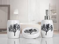 Комплект аксессуаров в ванную Irya Vanda white белый (3 предмета)