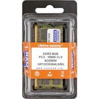 ОЗУ GOODRAM для ноутбука DDR3 8Gb 1333Mhz БЛИСТЕР