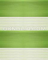 Тряпичные ролеты День Ночь DN 207 зеленый, 50*170 см