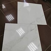 Плитка под мрамор 60х60см Calacatta Extra. Белый керамогранит. плитка для пола стен на пол