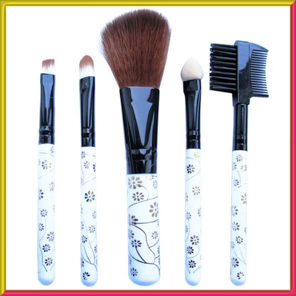 Набір Косметичних Пензлів 5 шт, №726 Аксесуари для макіяжу