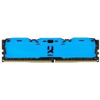 ОЗУ GOODRAM DDR4 8Gb 3000MHz CL16 IRDM X 1024x8 BLUE