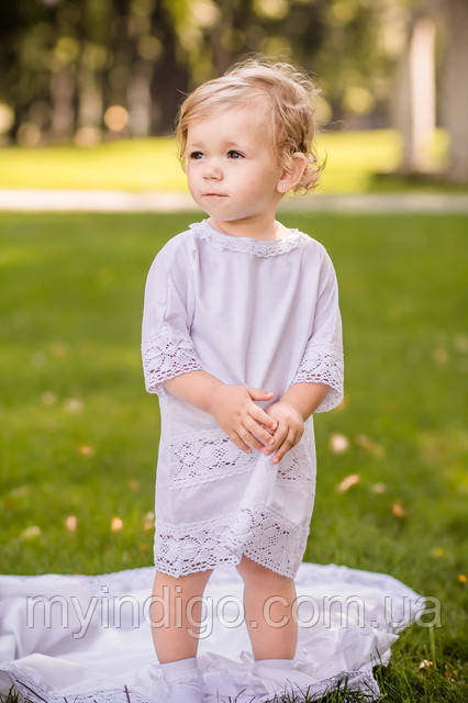 Рубашка для крещения - традиционный наряд для малышей
