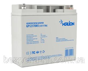 Аккумуляторная батарея  MERLION  AGM  GP12170M5