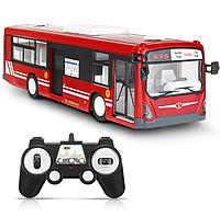 Радиоуправляемый автобус Double E 1:20 2.4G - E635-003 (красный)