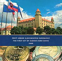 Словакия 2009. Официальный годовой набор монет