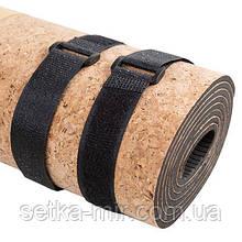 Резинка, стяжка для коврика на липучке, L=50cm