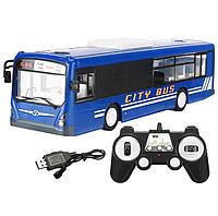 Радиоуправляемый автобус Double E 1:20 2.4G - E635-003 (синий)