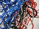 Сетка-гаситель для футзала, гандбола «ЭКСКЛЮЗИВ» желто-синий (комплект из 2 шт.), фото 6