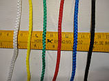 Сетка для футбола повышенной прочности «СТАНДАРТ ПЛЮС 2.1» желто-синяя (комплект 2 шт.), фото 4