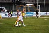 Сітка для футболу підвищеної міцності «ЕЛІТ» жовто-синя (комплект 2 шт), фото 6