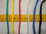 Сітка для футболу підвищеної міцності «ЕЛІТ» жовто-синя (комплект 2 шт), фото 4