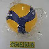Мяч волейбольный мяч для волейбола Mikasa V200W Тайланд. Сертификат., фото 2