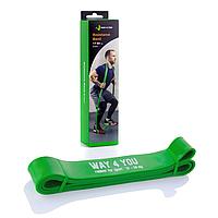 """Резиновая петля """"Зеленая"""" (резина для фитнеса и кроссфита) 17-54 кг"""