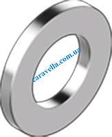 DIN 433, шайба узкая подкладная для винтов с цилиндрической головкой из латуни