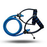 Універсальний Еспандер з ручками (Синій) 12-14 кг, фото 2