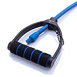 Універсальний Еспандер з ручками (Синій) 12-14 кг, фото 4