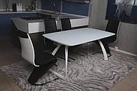 Стол обеденный Nicolas LONDON 160/240х90х75 см белый
