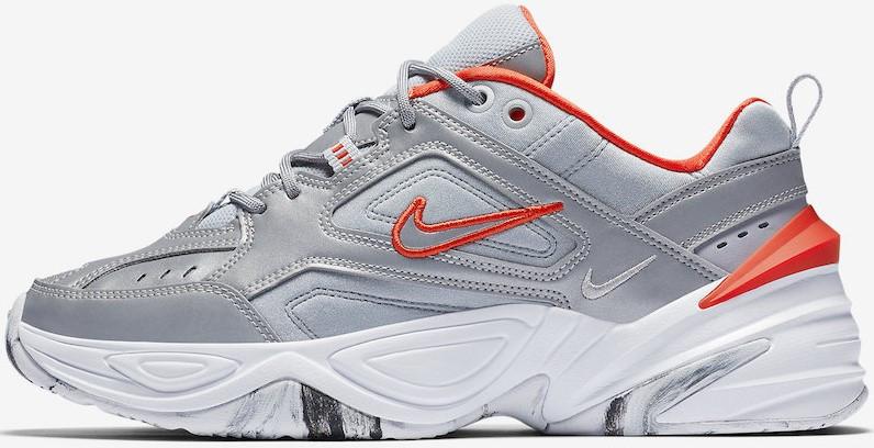 "Женские кроссовки Nike M2K ""Silver/Reflective"" ( в стиле Найк )"