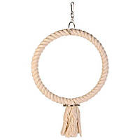 Trixie Кольцо для птиц, веревочное, ф 25 см.
