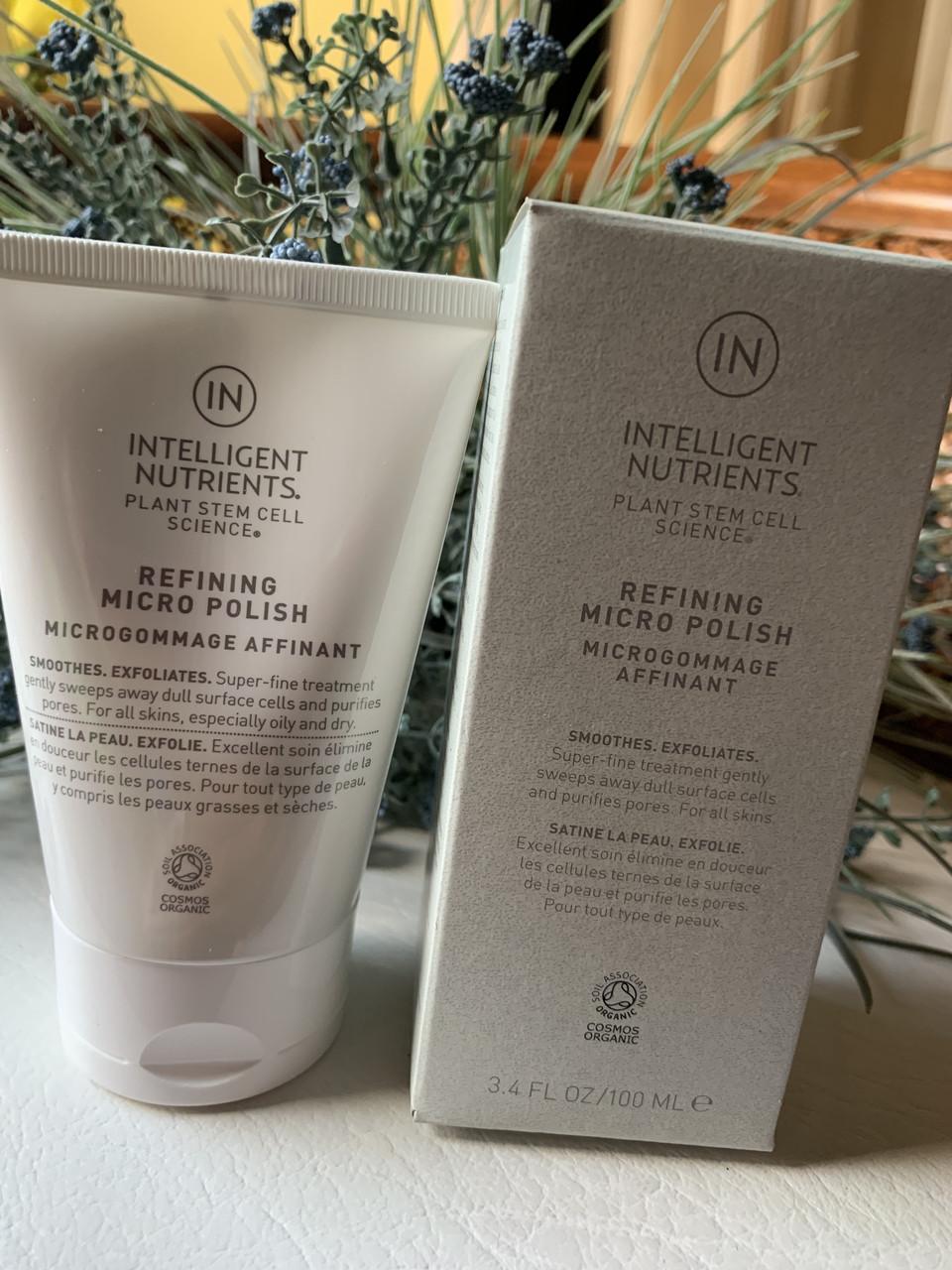 Скраб для кожи лица INTELLIGENT NUTRIENTS Refining Micro Polish