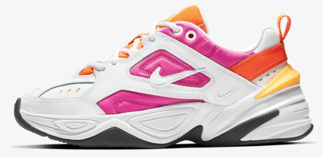 """Женские кроссовки Nike M2K """"White/Pink""""( в стиле Найк )"""