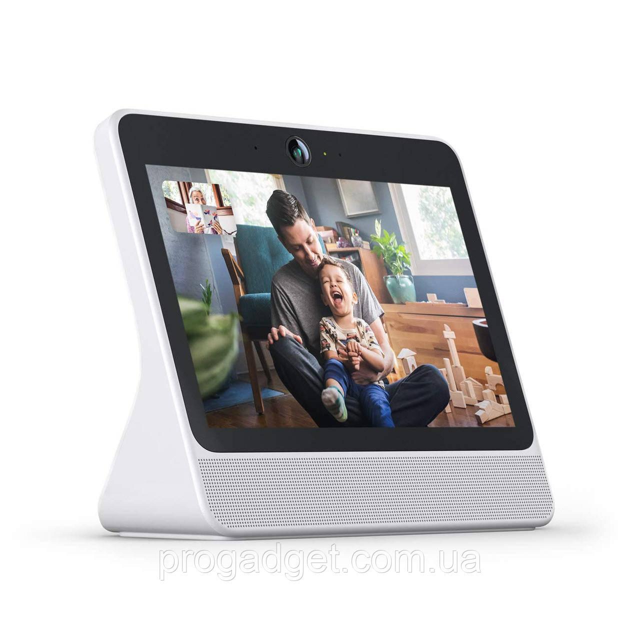 """Facebook Portal 10"""" экран, 10-Вт динамик, голосовое управление, Smart Камера, голосовой помощник Amazon Alexa"""