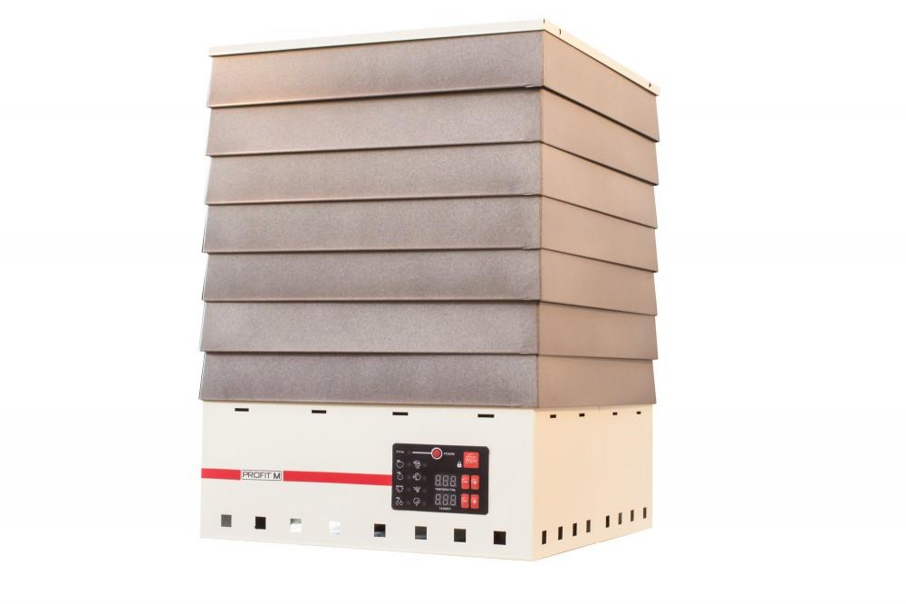 Електросушарка металева для фруктів і овочів Profit M (Профіт М) ЕСП-1Е 820 Вт об'ємом 35 літрів