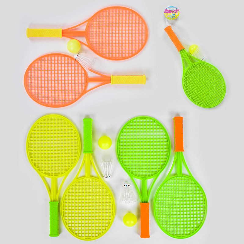 Набор для тенниса и бадминтона 8822 А (180/2) 3 цвета, в сетке