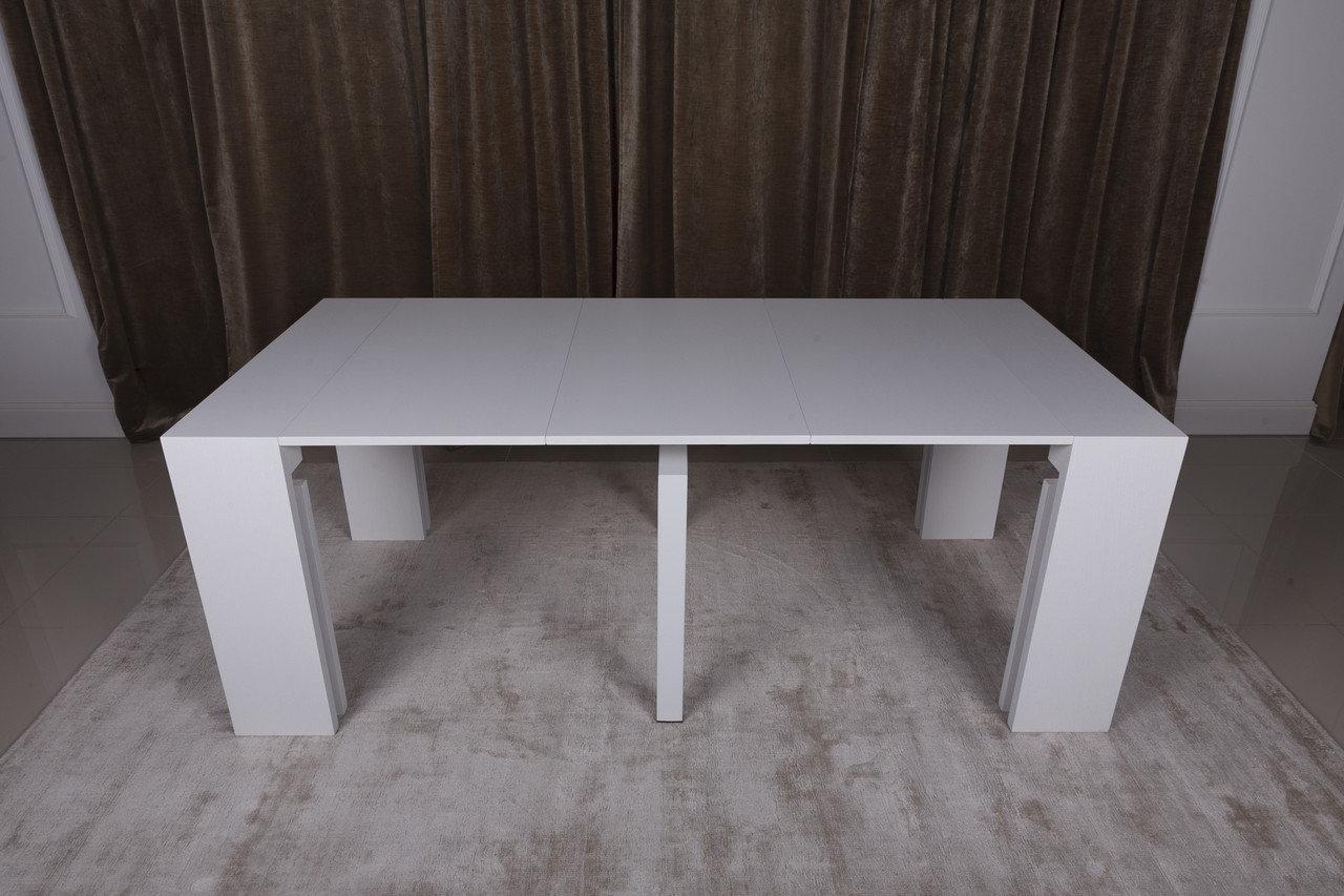 Стол обеденный Nicolas MANCHESTER 45/200х95х76 см белый