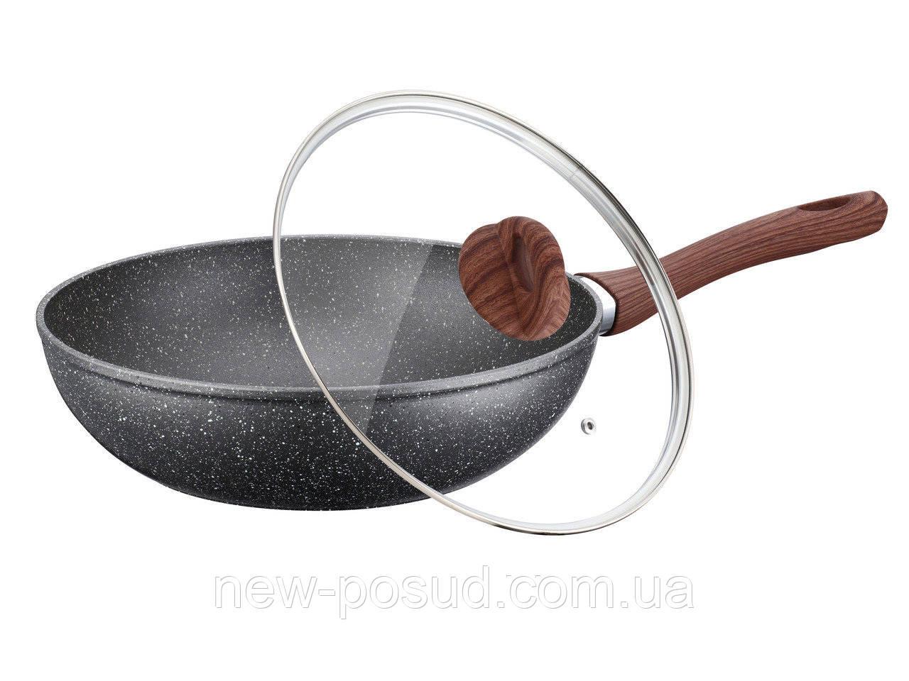 Сковорода-WOK с крышкой D 30 см Peterhof PH25325-30