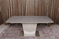 Стол обеденный Nicolas MICHIGAN 180/230х95х76 см мокко (стеклокерамика)