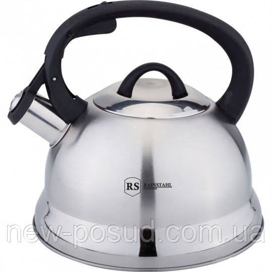 Чайник из нержавеющей стали со свистком 2,5 L Rainstahl RS 7635-25
