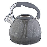 Чайник из нержавеющей стали со свистком 3 L Rainstahl RS 7645-30 Gray