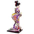Японська лялька «Майко з віялом», фото 3