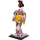 Японська лялька «Майко з віялом», фото 4