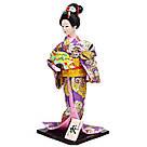 Японська лялька «Майко з віялом», фото 2