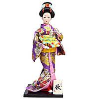 Японская кукла «Майко с веером», фото 1