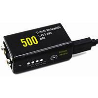 Аккумулятор Soshine 7.4V 500mAh Li-ion со встроенным micro USB портом для зарядки