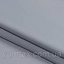 Ткань для штор и римской шторы блекаут однотонный матовый цвет серый свинец